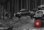 Image of US 16th Infantry accompanied by Armor, advance  from Osterode Germany, 1945, second 4 stock footage video 65675041532
