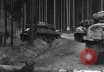 Image of US 16th Infantry accompanied by Armor, advance  from Osterode Germany, 1945, second 11 stock footage video 65675041532
