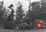 Image of German Mark V tank captured by Americans Saint Lo France, 1944, second 8 stock footage video 65675041541