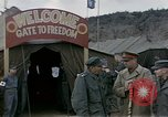Image of Prisoner Of War Camp Munsan-Ni Korea, 1953, second 3 stock footage video 65675041581