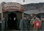 Image of Prisoner Of War Camp Munsan-Ni Korea, 1953, second 4 stock footage video 65675041581