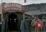 Image of Prisoner Of War Camp Munsan-Ni Korea, 1953, second 5 stock footage video 65675041581