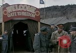 Image of Prisoner Of War Camp Munsan-Ni Korea, 1953, second 7 stock footage video 65675041581