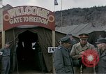 Image of Prisoner Of War Camp Munsan-Ni Korea, 1953, second 8 stock footage video 65675041581