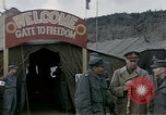 Image of Prisoner Of War Camp Munsan-Ni Korea, 1953, second 9 stock footage video 65675041581