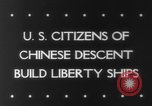 Image of citizens of Chinese descent California United States USA, 1943, second 4 stock footage video 65675041590