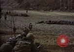 Image of United States Marines in combat during Korean War Hoengsong Korea, 1951, second 6 stock footage video 65675041615
