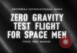 Image of astronaut training Ohio United States USA, 1959, second 4 stock footage video 65675041623