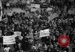 Image of national labor strikes and President Roosevelt United States USA, 1934, second 12 stock footage video 65675041627