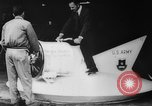 Image of flying scooters Princeton New Jersey USA, 1959, second 4 stock footage video 65675041631