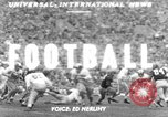 Image of football match Los Angeles California USA, 1951, second 1 stock footage video 65675041643