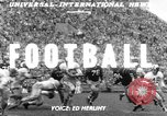 Image of football match Los Angeles California USA, 1951, second 2 stock footage video 65675041643