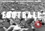 Image of football match Los Angeles California USA, 1951, second 3 stock footage video 65675041643