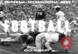 Image of football match Los Angeles California USA, 1951, second 4 stock footage video 65675041643