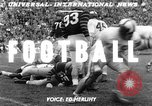 Image of football match Los Angeles California USA, 1951, second 5 stock footage video 65675041643