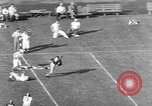 Image of football match Los Angeles California USA, 1951, second 10 stock footage video 65675041643