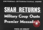 Image of Reza Pahlavi Iran, 1953, second 3 stock footage video 65675041646