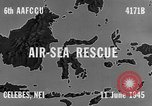 Image of PBY Catalina crashes during Air-Sea Rescue Celebes Netherlands East Indies, 1945, second 9 stock footage video 65675041658