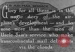 Image of Air Mail United States USA, 1925, second 7 stock footage video 65675041662
