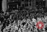 Image of New York Curb Market Brokers on Broad Street New York City USA, 1918, second 8 stock footage video 65675041698