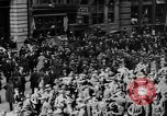Image of New York Curb Market Brokers on Broad Street New York City USA, 1918, second 9 stock footage video 65675041698