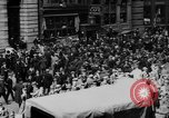 Image of New York Curb Market Brokers on Broad Street New York City USA, 1918, second 12 stock footage video 65675041698