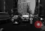 Image of crowded Fifth Avenue New York  New York City USA, 1940, second 10 stock footage video 65675041739