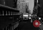 Image of crowded Fifth Avenue New York  New York City USA, 1940, second 12 stock footage video 65675041739