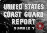 Image of United States Coast Guard worldwide activities in World War 2 Atlantic and Pacific theaters, 1944, second 4 stock footage video 65675041741