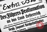 Image of Adolf Hitler announces the Anschluss Vienna Austria, 1938, second 2 stock footage video 65675041760