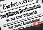 Image of Adolf Hitler announces the Anschluss Vienna Austria, 1938, second 3 stock footage video 65675041760