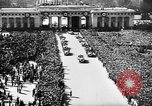 Image of Adolf Hitler announces the Anschluss Vienna Austria, 1938, second 6 stock footage video 65675041760