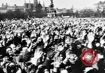 Image of Adolf Hitler announces the Anschluss Vienna Austria, 1938, second 9 stock footage video 65675041760