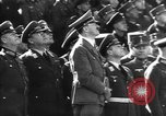 Image of Adolf Hitler reviews military parade Vienna Austria, 1938, second 10 stock footage video 65675041761
