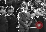 Image of Adolf Hitler reviews military parade Vienna Austria, 1938, second 12 stock footage video 65675041761