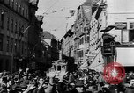 Image of German troops entering Graz during Anschluss Austria, 1938, second 5 stock footage video 65675041765
