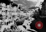 Image of Citizens celebrate annexation of Austria by Germany Villach Austria, 1938, second 2 stock footage video 65675041766