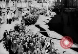 Image of Citizens celebrate annexation of Austria by Germany Villach Austria, 1938, second 3 stock footage video 65675041766