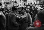 Image of Hitler welcomed during the Anschluss Linz Austria, 1938, second 9 stock footage video 65675041767
