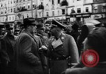 Image of Hitler welcomed during the Anschluss Linz Austria, 1938, second 11 stock footage video 65675041767