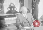 Image of President Eisenhower Washington DC USA, 1957, second 10 stock footage video 65675041782