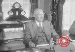 Image of President Eisenhower Washington DC USA, 1957, second 11 stock footage video 65675041782