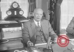 Image of President Eisenhower Washington DC USA, 1957, second 12 stock footage video 65675041782