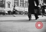Image of Fifth Avenue New York City USA, 1950, second 3 stock footage video 65675041792