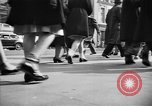 Image of Fifth Avenue New York City USA, 1950, second 10 stock footage video 65675041792