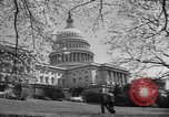 Image of Capitol Building Washington DC USA, 1950, second 2 stock footage video 65675041793