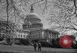 Image of Capitol Building Washington DC USA, 1950, second 6 stock footage video 65675041793