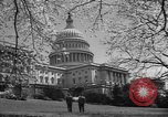 Image of Capitol Building Washington DC USA, 1950, second 8 stock footage video 65675041793