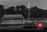 Image of Lincoln Memorial and American soldiers Washington DC USA, 1950, second 8 stock footage video 65675041795
