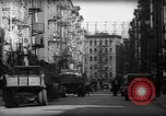 Image of Tenement area New York City USA, 1937, second 12 stock footage video 65675041801